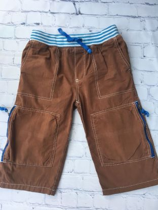 Mini Boden brown shorts age 10 (fits age 9-10)
